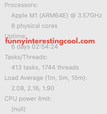 Macbook Air Processor Speed M1 Menu Meters